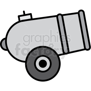 circus cannon icon clipart. Commercial use image # 409917