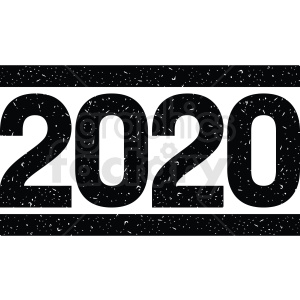 2020 clipart no background clipart. Royalty-free image # 410047