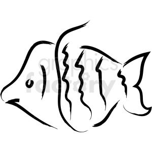 fish vector icon clipart. Royalty-free image # 410257