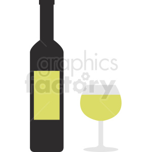 wine time clipart. Royalty-free image # 410295