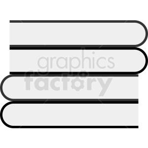 vector books clipart. Commercial use image # 410357