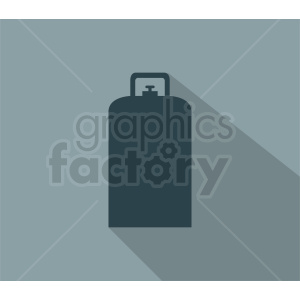 gas tank on square background clipart. Commercial use image # 410374