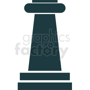 greek column vector design clipart. Royalty-free image # 410429