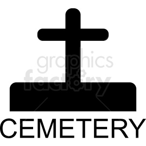 cemetery logo design clipart. Commercial use image # 410432