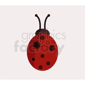 lady bug clipart clipart. Royalty-free image # 410480