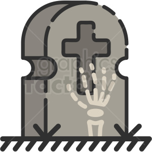 tombstone clipart. Royalty-free icon # 410524