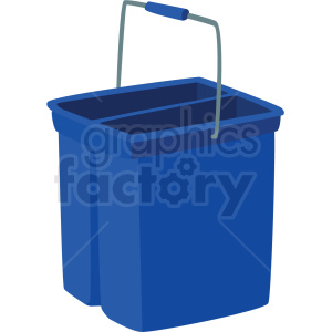 mop bucket vector clipart clipart. Commercial use image # 410545