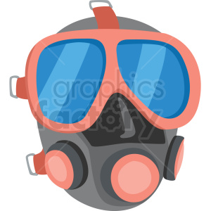 scuba mask vector clipart clipart. Royalty-free image # 410585