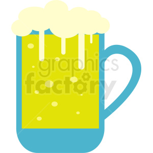 glass of beer clipart. Royalty-free image # 410713