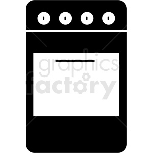 stove vector icon