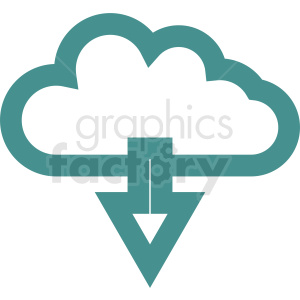 download cloud clipart. Royalty-free image # 411041