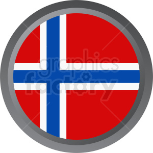 flag of Norway vector icon clipart. Royalty-free image # 411123