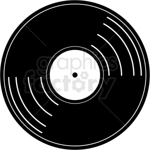 vinyl record vector clipart clipart. Commercial use image # 411161