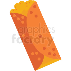 burrito vector clipart clipart. Royalty-free image # 411625