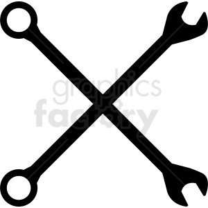 tools crossed vector clipart clipart. Royalty-free image # 411839