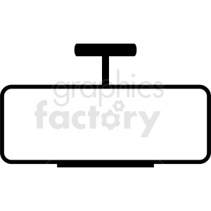 rearview car mirror vector clipart. Royalty-free image # 411879