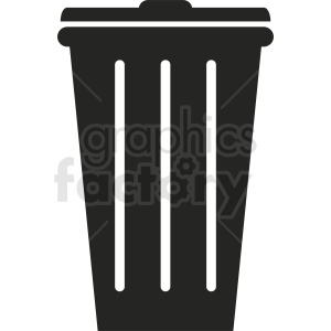 trash vector icon clipart. Royalty-free image # 411928
