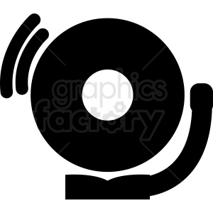 bell ring clipart. Commercial use image # 411945
