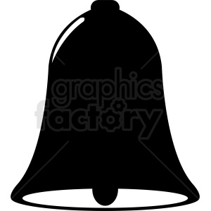 black bell vector clipart clipart. Royalty-free image # 411992