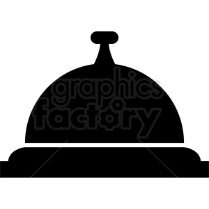 counter top bell vector icon clipart. Commercial use image # 412005