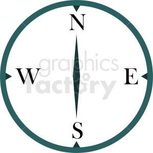 compass vector clipart clipart. Royalty-free image # 412102
