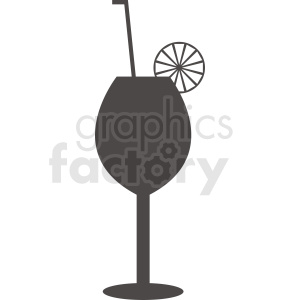 cocktail glass clipart. Royalty-free image # 412236