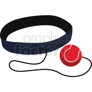 boxing training belt vector clipart clipart. Royalty-free image # 412498