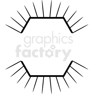 bursting design vector clipart clipart. Royalty-free image # 412564