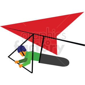 glider vector clipart icon clipart. Commercial use image # 412967