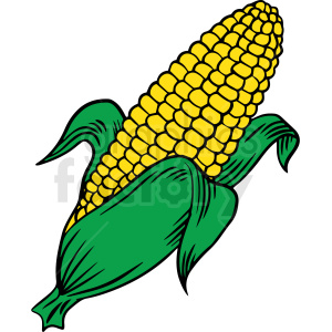 corn vector clipart clipart. Commercial use image # 412987