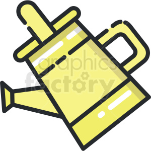 watering can vector clipart clipart. Royalty-free image # 413290