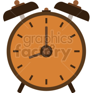 vintage alarm clock vector graphic clipart 1 clipart. Commercial use image # 413580