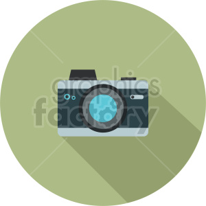 camera vector graphic 3 clipart. Commercial use image # 413611