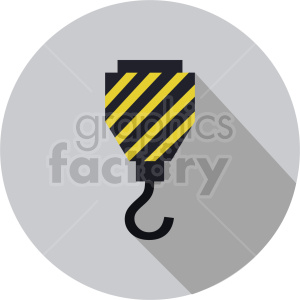 crane hook vector graphic clipart 1 clipart. Commercial use image # 413645