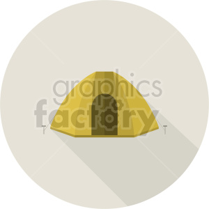 camping tent vector graphic clipart 2 clipart. Commercial use image # 413681
