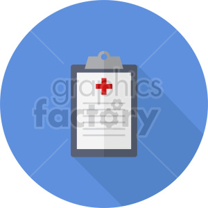 medical report vector icon graphic clipart 2 clipart. Commercial use image # 413761