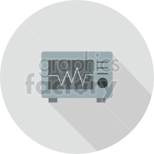ekg machine vector icon graphic clipart 3 clipart. Commercial use image # 413771