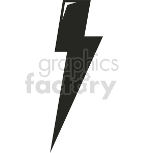 lightning vector icon graphic clipart 3