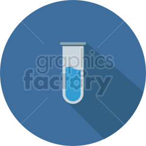 laboratory test tube vector icon graphic clipart 11 clipart. Commercial use image # 413826