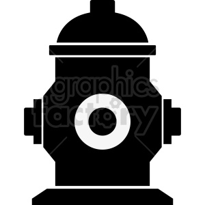 fire hydrant vector icon graphic clipart 5 clipart. Commercial use image # 413880