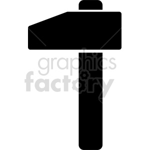 hammer vector icon graphic clipart 20 clipart. Commercial use image # 413922