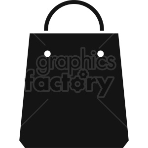 shopping bag vector icon graphic clipart 3 clipart. Royalty-free image # 413931