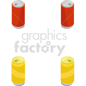 isometric soda can bundle vector icon clipart 1 clipart. Commercial use image # 413958