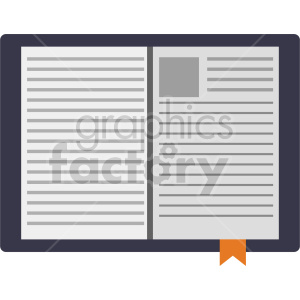 isometric journal vector icon clipart 9 clipart. Commercial use image # 413984