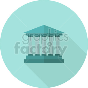 isometric university vector icon clipart 2 clipart. Royalty-free image # 414025
