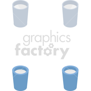 isometric milk vector icon clipart 7 clipart. Commercial use image # 414046