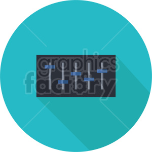 isometric music mixer vector icon clipart 2 clipart. Commercial use image # 414102