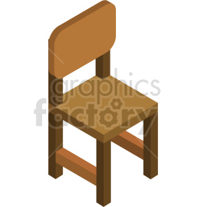 isometric chairs vector icon clipart 6 clipart. Commercial use image # 414182