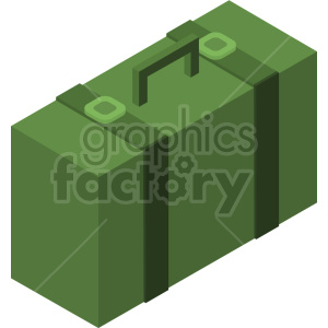 isometric travel bag vector icon clipart 5 clipart. Commercial use image # 414237