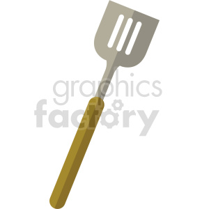 isometric spatula vector icon clipart 1 clipart. Commercial use image # 414241